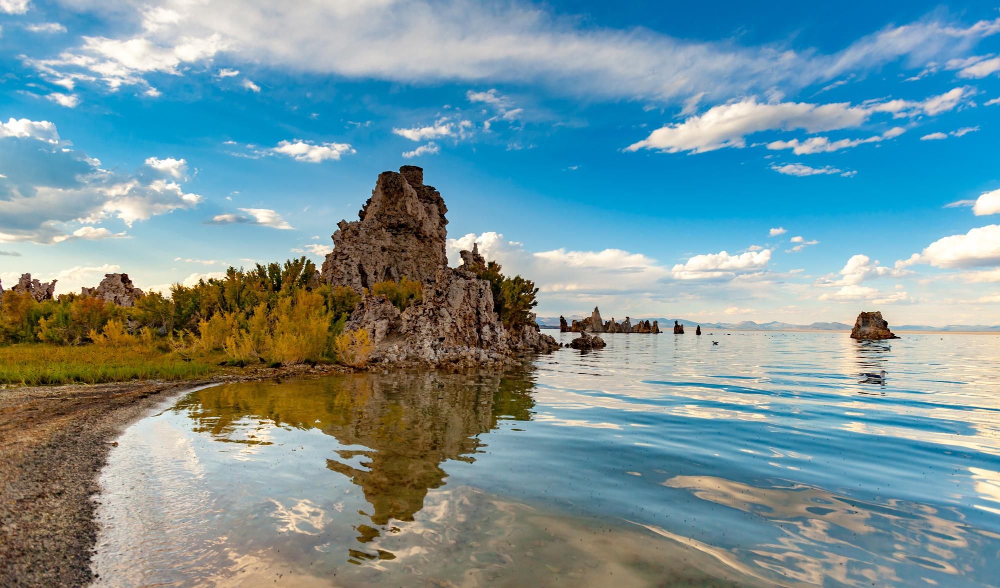 Mono Lake in California, USA