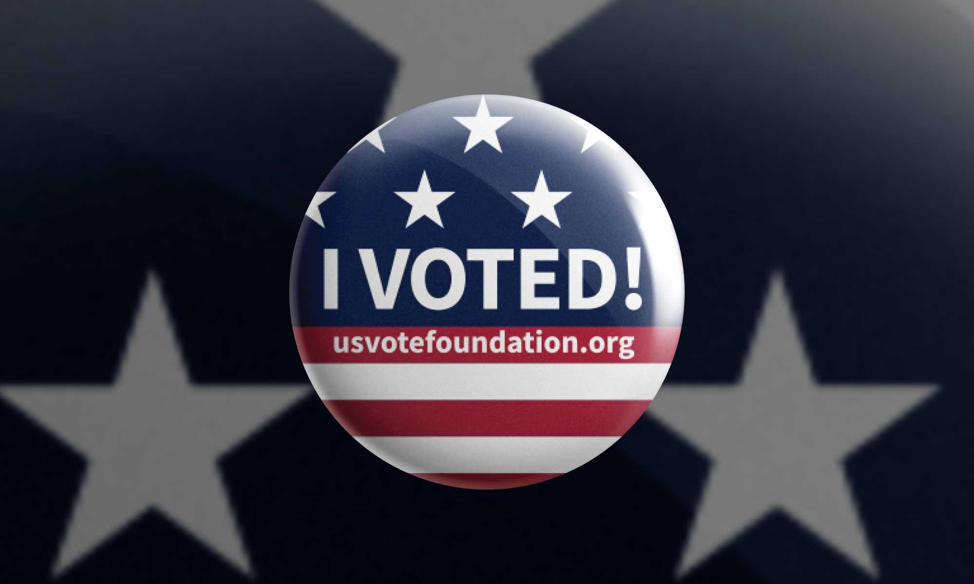 I VOTED 2020