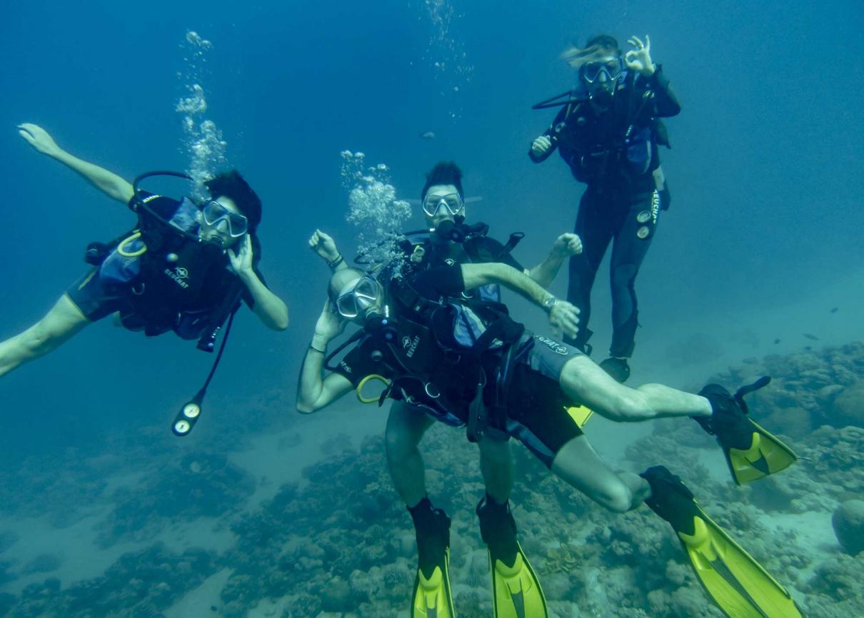 Red Sea Scuba Diving in Jordan