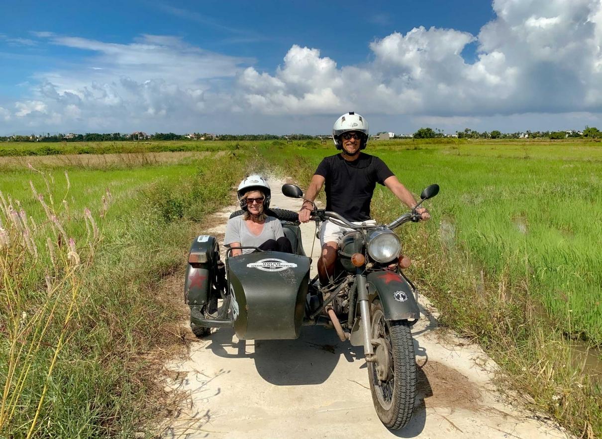 Vietnam Motorcycle Side Car Tour Hoi An