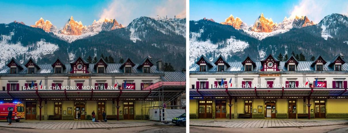 Chamonix Train Station