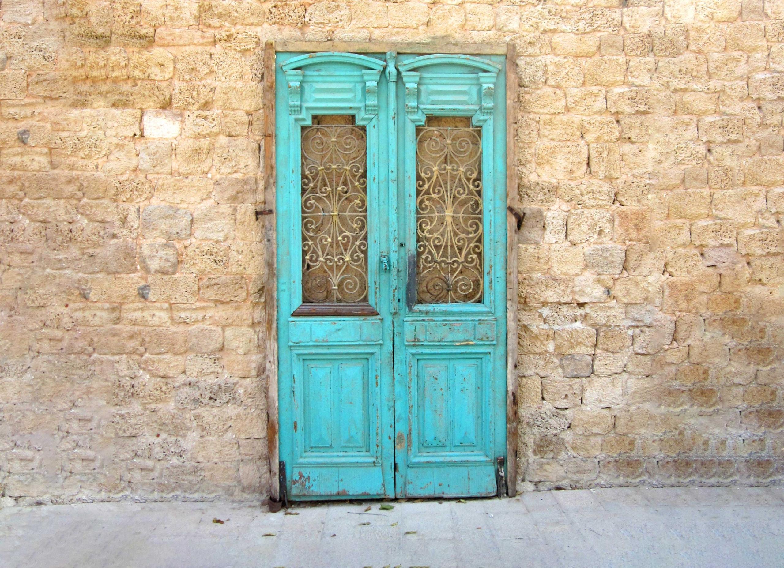 Blue Door from Haifa