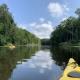 Kayaking down Rönne Å